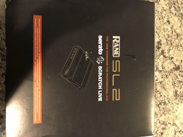 Serato SL2 (Box and Vinyls included )