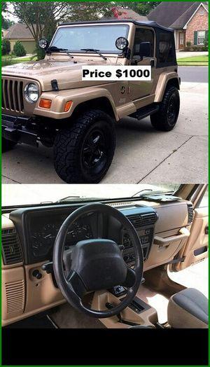 ֆ1OOO_1999 Jeep Wrengler for Sale in Los Angeles, CA