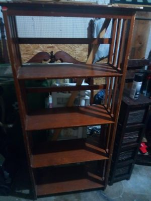Wood shelving storage for Sale in Arlington, TX
