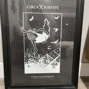 Circa survive Juturna 10 Year Anniversary Concert for Sale in Los Angeles, CA