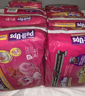 Huggies GIRL Pull Ups (only 2t-3t, 3t-4t) PRICE $6 Each Miramar/Doral Area for Sale in Miami Gardens, FL