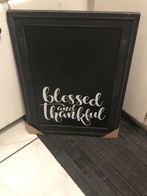 Chalk board for kitchens for Sale in Fort Lauderdale, FL