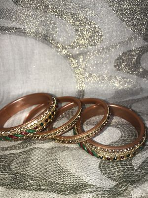 Gold plated bangles for Sale in Pasadena, MD