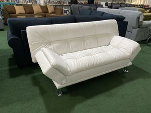 Brand new pillowtop futon sofa bed. Folds down flat. for Sale in Lake Worth, FL