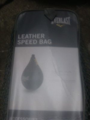 Leather speed bag for Sale in Modesto, CA