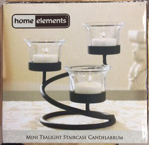 Mini Tealight Staircase Candelabrum - BRAND NEW IN BOX. 👉See my other offers👈 for Sale in Stockton, CA