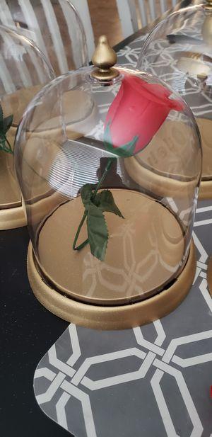 Glitter Gold hard plastic Bell Jar for Sale in Moreno Valley, CA