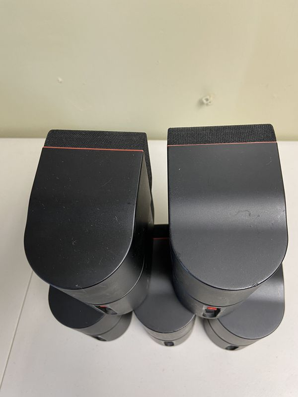 Bose Double Cubes Red Line speakers in excellent condition like new. 10 -200 watts amazing sound.