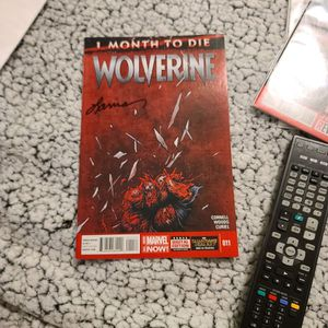 1 Month To Die Wolverine First Print Signed By Laura Martin for Sale in Hollywood, FL