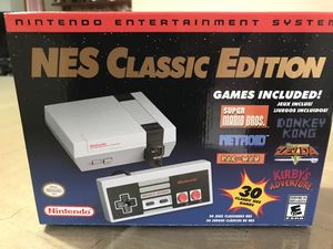 NES and Super Nintendo Classic Edition for Sale in Everett, WA