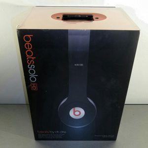 Beats headphones solo hd new sealed box for Sale in San Antonio, TX