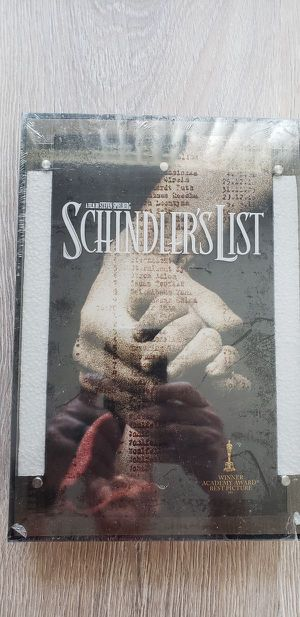 FACTORY SEALED Collector's Gift Set DVD of Schindler's List for Sale in Orlando, FL