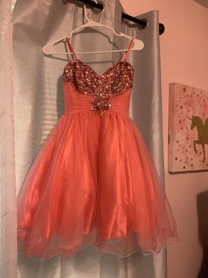 Coral prom dress for Sale in Forest Hill, TX