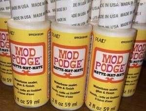 7❌Mode podge Matte Finish water base sealer glue for Sale in Lincoln, RI