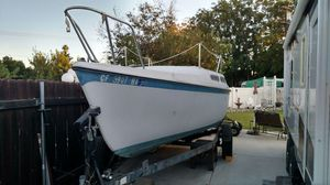 25ft McGregor sail boat w/trailer *OBO* for Sale in Riverside, CA