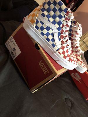 Vans sneakers for Sale in Millville, NJ