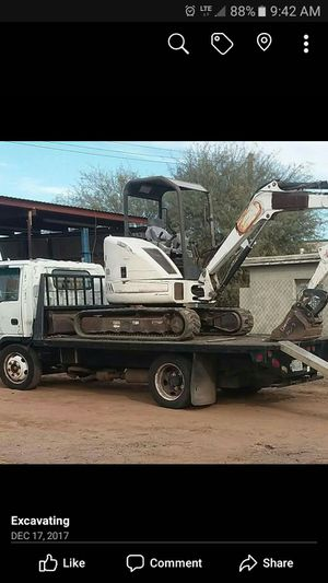 mini bobcat excavator for Sale in Phoenix, AZ