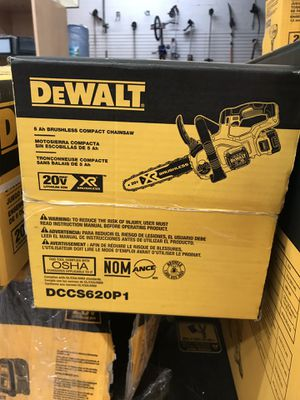 Dewalt 5ah brushless compact chainsaw for Sale in Miami, FL