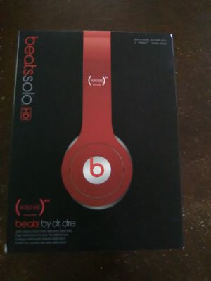 Dr Dre Beat Solo HD Red for Sale in Las Vegas, NV
