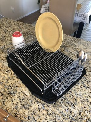 Stainless steel dish rack for Sale in Las Vegas, NV