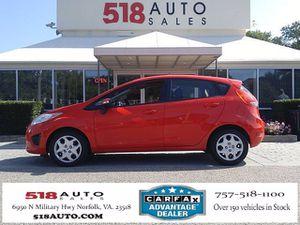 2013 Ford Fiesta for Sale in Norfolk, VA