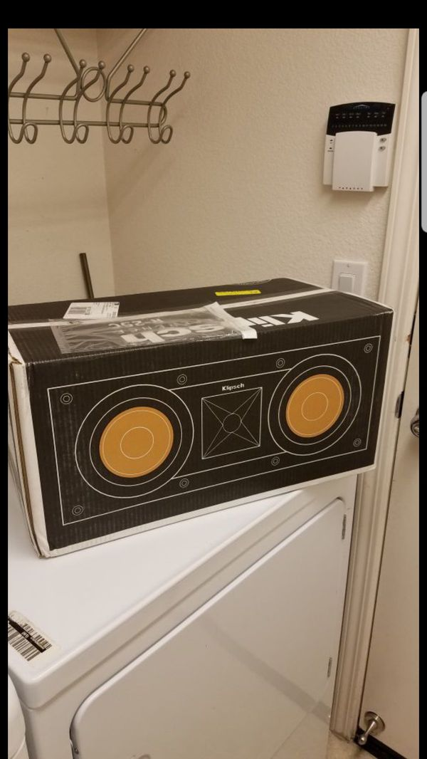 NEW Klipsch R-25C Center Speaker Brand New Factory Sealed...