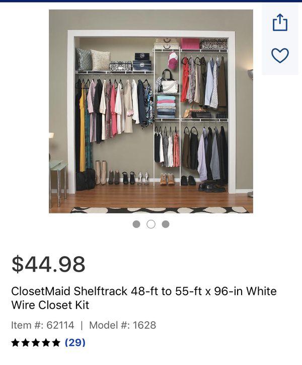 ClosetMaid shelves