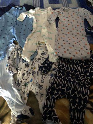 Baby newborn pijamas for Sale in Santa Clarita, CA