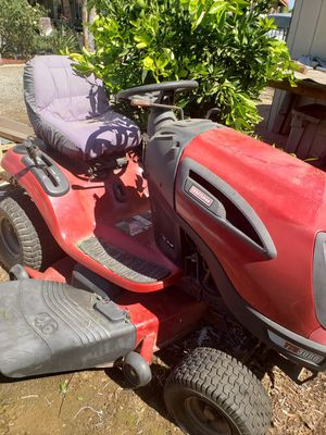 Craftsman Tractor Mower and Garden/Utility Trailer for Sale in Riverside, CA
