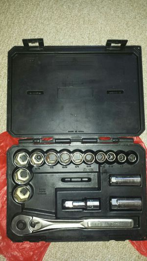 "Craftsman socket set 1/2"" drive for Sale for sale  Brooklyn, NY"