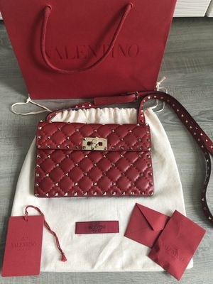 Valentino RED BAG! Authentic for Sale in Atlanta, GA