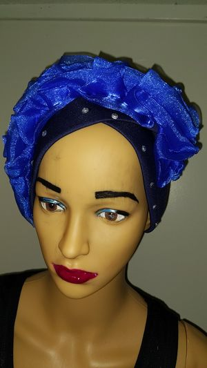 Fashionable blue scuba with royal blue for Sale in Floral Park, NY