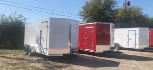Enclosed trailers 2021 model 7x16 for Sale in DeSoto, TX
