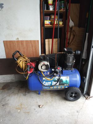 Air copressor purchased form tractor supply for Sale in Bay City, MI