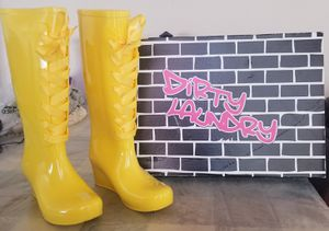 Rain boots with wedge. Dirty Laundry brand for Sale in Colton, CA