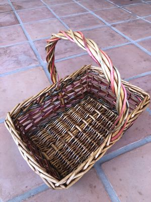 Bamboo Basket for Sale in Chandler, AZ