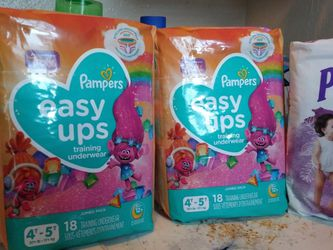 Pampers Easy Ups 4t-5t & Huggies Pull Ups 2t-3t & 3t-4t for Sale in Salinas,  CA