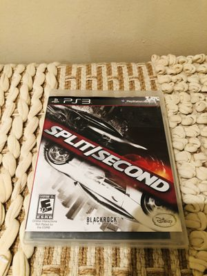 Split/Second (Sony PlayStation 3, 2010) PS3 CIB Complete TESTED for Sale in Dumfries, VA
