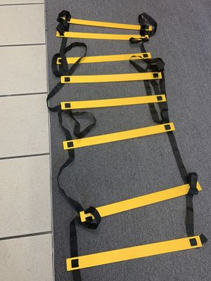 New 8-rung Adjustable Agility Ladder for Soccer, Speed, Football, Fitness with Carry Bag for Sale in Ontario, CA