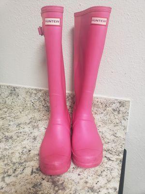 Pink Hunter Tall Adjustable Rain Boots for Sale in Marietta, GA