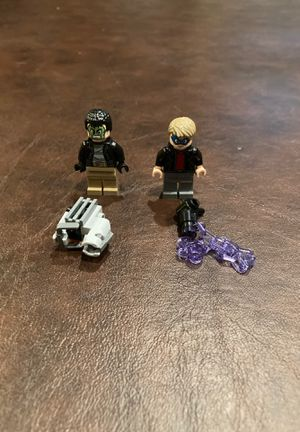 LEGO minifigures Spider-Man homecoming robbers collection for Sale in Riverside, CA