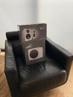 Kanto Speakers W/ Subwoofer for Sale in Los Angeles, CA