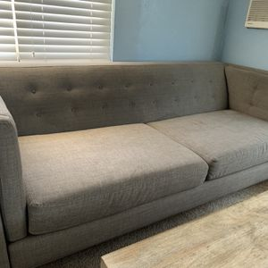 Gray Couch For Sale for Sale in San Diego, CA