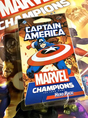 Marvel Champions the card game LCG - Captain America Hero Pack (Rare/Sealed/Unopened) for Sale in Phoenix, AZ