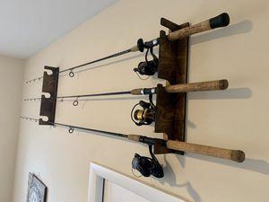 Custom Fishing Rod Rack for Sale in Miami, FL