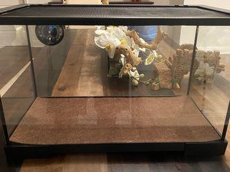 10 Gallon Terrarium (Reptiles, Fish, Etc) for Sale in Fort Lauderdale,  FL