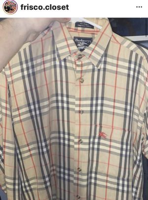 Burberry shirt for Sale in San Francisco, CA