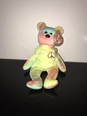 Ty Beanie Baby Peace Bear for Sale in Harrisonburg, VA