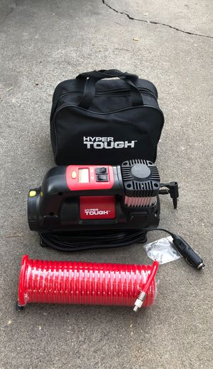 Brand new hyper tough air compressor never used. Only asking $30. for Sale in Stockton, CA
