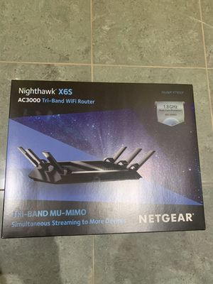 Netgear Nighthawk X6S AC3000 Tri-Band WiFi Router for Sale in Madera, CA